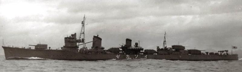 駆逐艦磯風=写真日本海軍全艦艇史下巻(福井静夫編)から。ワシントン海軍軍縮条約が失効後に建造された陽炎型駆逐艦の12番艦。真珠湾攻撃の空母機動部隊の護衛を務め、太平洋戦争のほとんどの期間、第一線に出ていた。沖縄海上特攻作戦で大破し、味方の砲撃処分で沈没した。